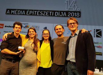 MEGKAPTUK! A Média Építészeti Díja 2018 / Europa Design Belsőépítészeti Különdíj!